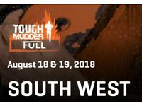 2 x Tough Mudder South West 2018 - Saturday - 18 August 2018 - Tough Mudder Full Participant