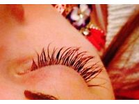 Individual Eyelash Extensions only £55!