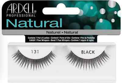(LOT OF 72) Ardell Natural Lashes #131 False Fake Eyelashes Black Fashion