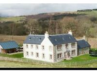 6 bedroom, 5 ensuite country house to rent
