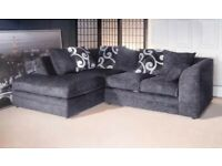 Brand new sofa grey corner or 32 always in stock