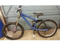 Kona stinky downhill mountain bike for sale