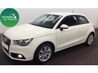 £208.22 PER MONTH WHITE 2011 AUDI A1 1.4 FSI SPORT S-T 3 DOOR PETROL AUTO