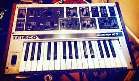 Teisco 60f vintage synth