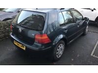 VOLKSWAGEN GOLF 1.6 2002 GREEN