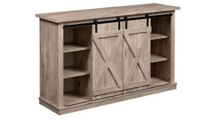 """Brand New in Box - Rustic TV Stand for TVs up to 60"""""""