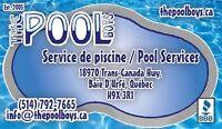 Entretien de piscine Hebdomedaire/weekly pool service/cleaning