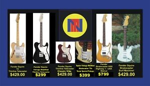 STUDENT GUITAR SPECIALS -HALLOWEEN BLOWOUT !!!