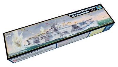 Trumpeter 9365627 Deutscher Flugzeugträger DKM Graf Zeppelin 1:350 Modellbausatz