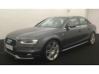 Grey AUDI A4 SALOON 1.8 2.0 TDI Diesel SPORTS LINE FROM £67 PER WEEK!