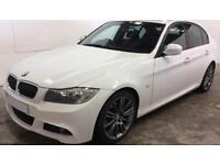White BMW 318d 2.0TD 2010 Sport Plus, Alloys FROM £41 PER WEEK