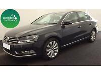 £213.73 PER MONTH GREY 2013 VW PASSAT 1.6 BMT HIGHLINE 4 DR DIESEL MANUAL SATNAV