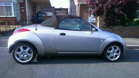 Ford Streetka Convertible Pinninfarina Styling. Fun Little Car.