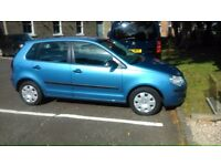 Volkswagen Polo 1.2 - 1 lady owner, 5 door, low mileage (60,000), 07 plate. Excellent Car ONLY £1900
