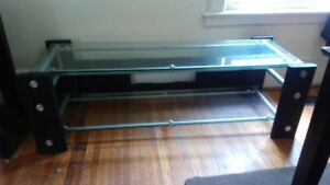 """Heavy glass tv Stand 60"""""""