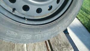 NICE 205/55r16 rims and tires for a Honda civic
