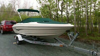 2001 LARSON 18.5FT BOWRIDER W/ 3.0L AND TRAILER
