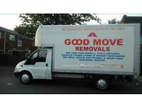 A GOOD MOVE REMOVALS FROM £7