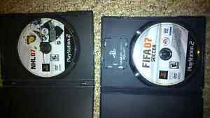 NHL07 and Fifa07 for Playstation 2