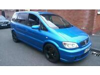 2003/52 Vauxhall Zafira Gsi Turbo Arden Blue 7 Dump Valve Alloys Not Seat Skoda Vw