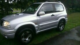 NOW SOLD,,,,,,, Suzuki grand vitara 2.0 td MOT Failure for spares or repairs.