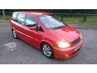 2004/53 Vauxhall Zafira Gsi Turbo 200Bhp In Red Very Rare Colour Bargain 2 Owners Not Seat Ford Vw
