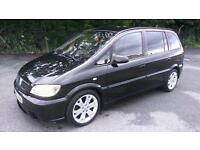 2005/55 Vauxhall Zafira Gsi Turbo Black FSH 11 Months MOT £££ Spent Must Read Not Ford Audi vw