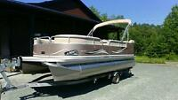 2010 AVALON LS2100 PONTOON W/ 60HP BIG FOOT & TRAILER