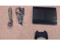 PlayStation 3 slim 500 GB + 9 games