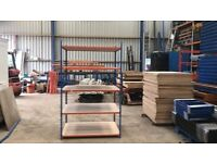 5 LEVEL RAPID RACKING WAREHOUSE WORKSHOP SHOP GARAGE SHED BAY SHELVING UNIT