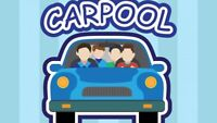 Carpool from Fredericton to Oromocto - will share costs