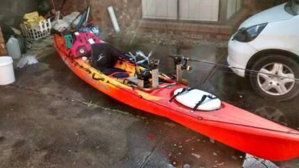 Fishing kayak - Ocean Kayak Prowler Elite plus accessories