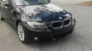 Price dropped** Black bmw 3 series front bumper 2011