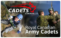 FREE  Join the Adventure   Youth 12-18  Fort Erie Army Cadet