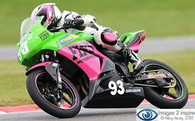 Kawasaki Ninja 300 Race Track Bike Motorcycle Motorbike Superteen Junior Cup