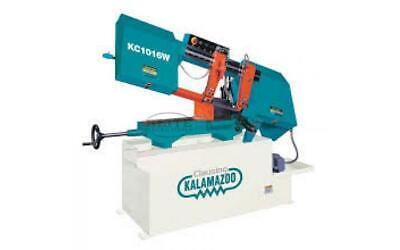 Kalamazoo Kc1016w Kc1016vs Horizontal Bandsaw Operations Parts Manual 113pgs