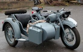 1969 Dnepr K-650 with sidecar Military German Style