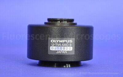Olympus U-tv0.5xc-3 C-mount Camera Adapter For Bx Ix Microscope