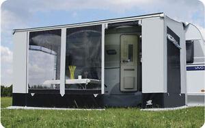 WIGO-Markisenzelt Rolli Style, 400x250 cm Wohnwagen Vorzelt Markise, Vorzelt