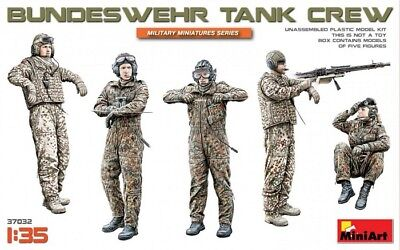 MINIART 37032 - 1/35 BUNDESWEHR PANZERBESATZUNG / GERMAN ARMY TANK CREW - NEU