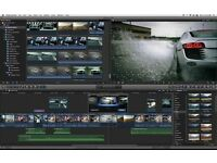 FINAL CUT PRO X - WORKS WITH YOSEMITE + COMPRESSOR + MOTION + PLUGINS - MAC