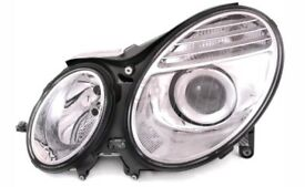 MERCEDES BENZ E CLASS (W211) 2006-8/2010 HEADLIGHT HEADLAMP PASSENGER SIDE LEFT