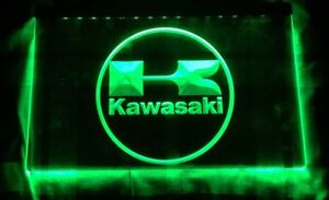 Affiche DEL Kawasaki LED Sign.
