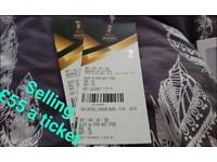 Womens hockey world cup tickets (Olympic Park hockey arena) ger vs arg, usa vs eng