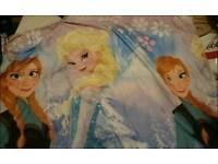 Frozen single bedding