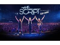The Script concert seated ticket for free! Tonight only.
