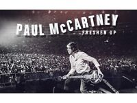 Premium Seated - SIR PAUL MCCARTNEY TICKETS - London O2 Arena - Tiered Seated BLOCK 110 ROW C