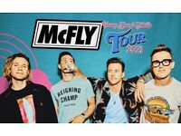X2 Mcfly Tickets Birmingham (Great Seats)
