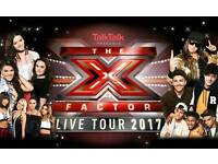 2 X factor cardiff tickets