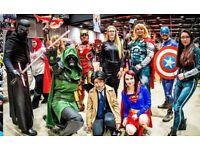 Comic-Con London Saturday 26th May 2018